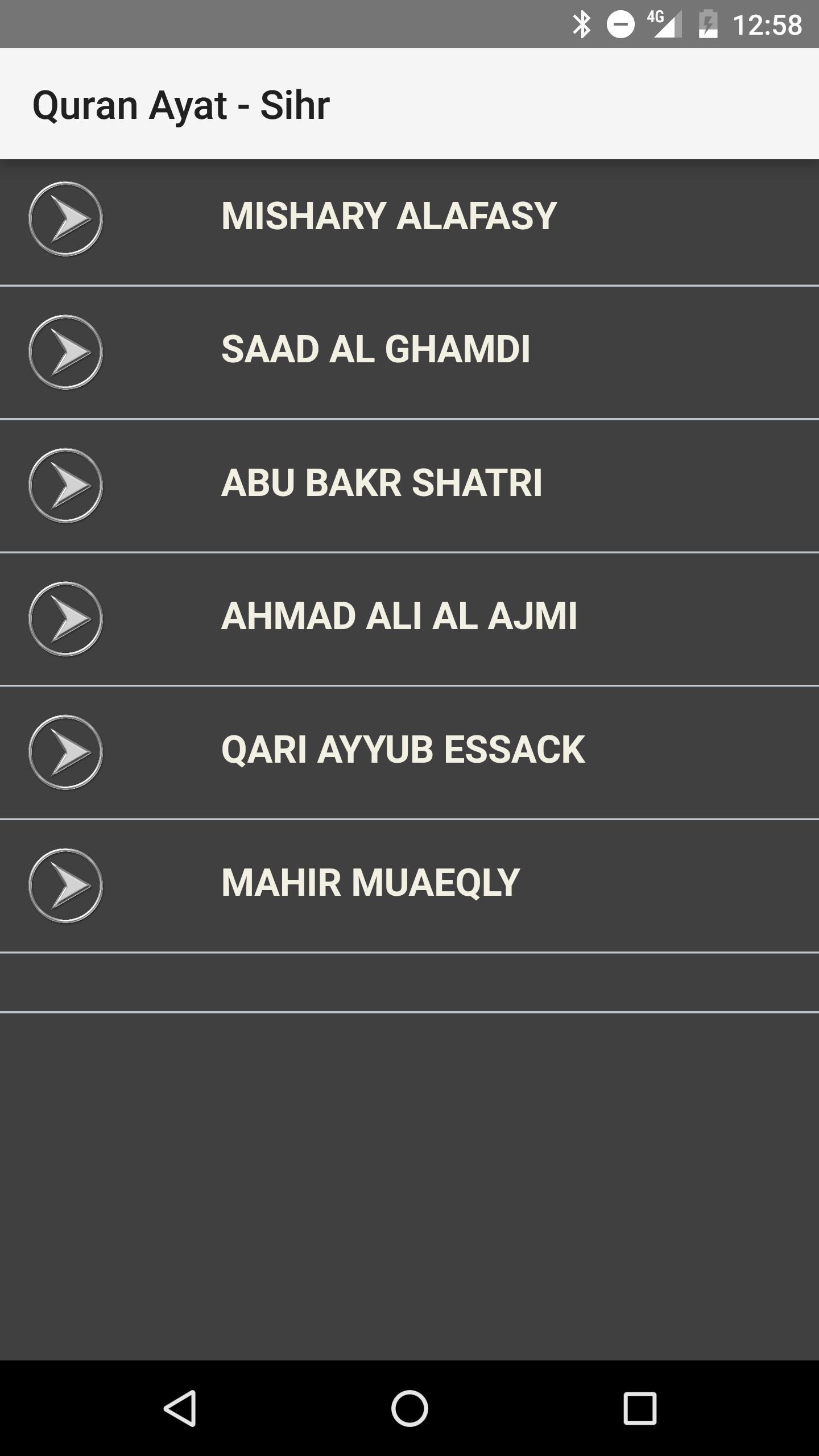 Quran Ayat - Sihr for Android - APK Download