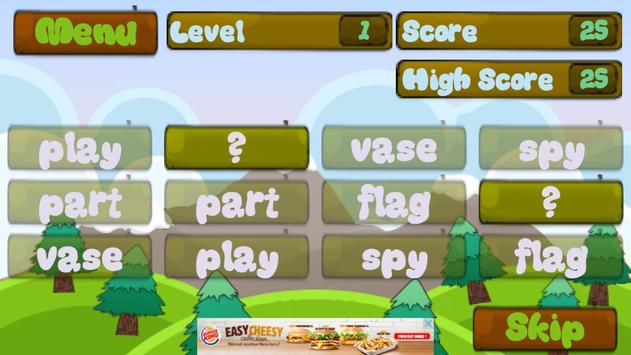 4th Grade Vocabulary Words screenshot 2