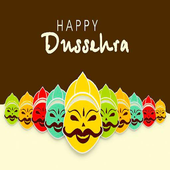 Happy Dussehra And Vijayadashami Sms Wallpapers icon