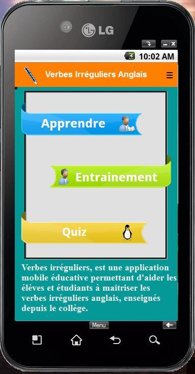 Verbes Irreguliers Pour Android Telechargez L Apk