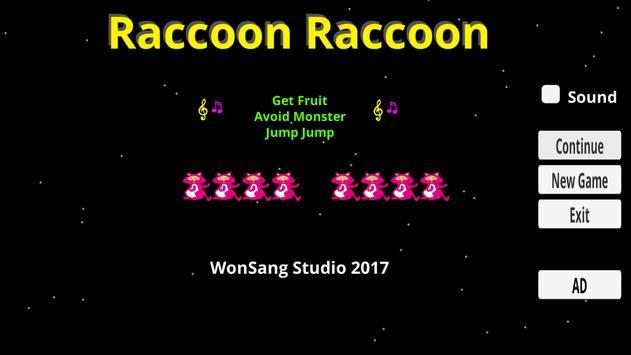 Raccoon Raccoon apk screenshot
