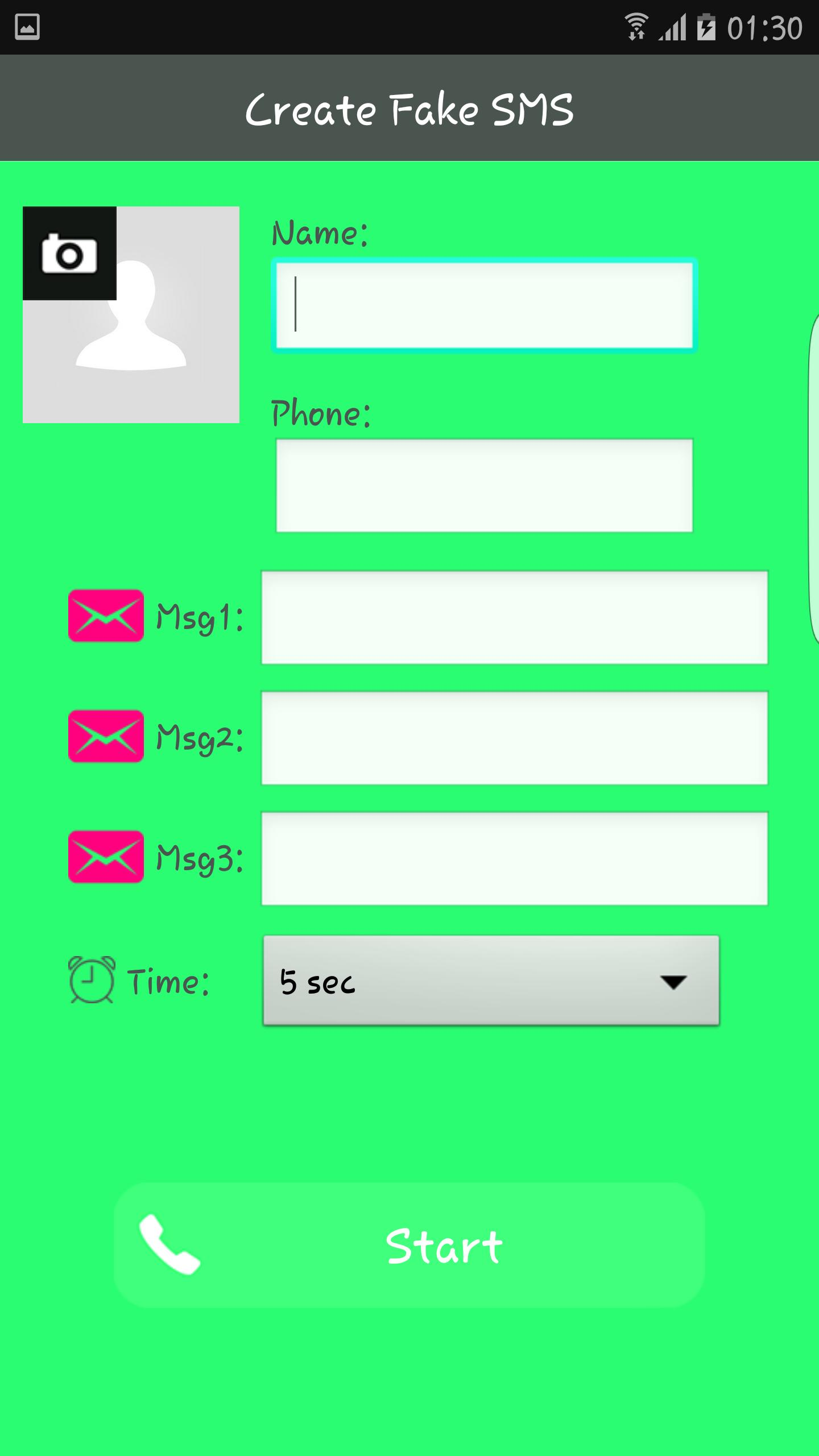 Send Fake Text Message for Android - APK Download