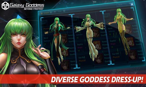 Galaxy Goddess screenshot 4
