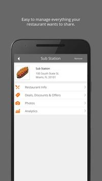 Yyppee for Restaurant Owners apk screenshot