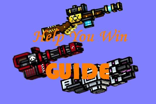 Guide Pixel Gun 3D Free poster