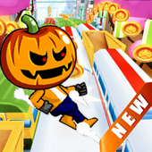 Subway Halloween Boy Run 2017 icon