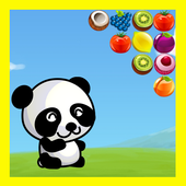 Fruit Bubble Shooter Panda icon