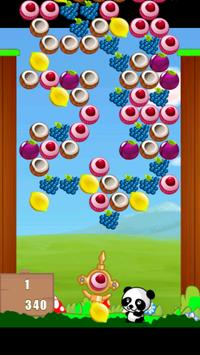 Fruit Bubble Shooter Panda screenshot 2