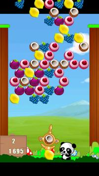 Fruit Bubble Shooter Panda screenshot 3