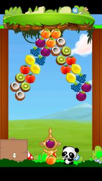 Fruit Bubble Shooter Panda screenshot 5