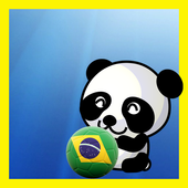 Soccer Bubble Shooter Panda icon