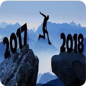 Año Nuevo 2018 Cuenta Regresiva icon