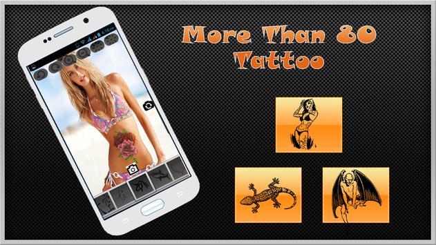 Cool Tattoos Camera Pro screenshot 3