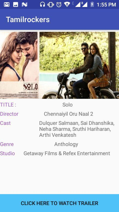 Tamilrockers-Best app tollywood,bollywood movie for Android - APK