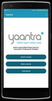 Yaantra Warranty screenshot 2