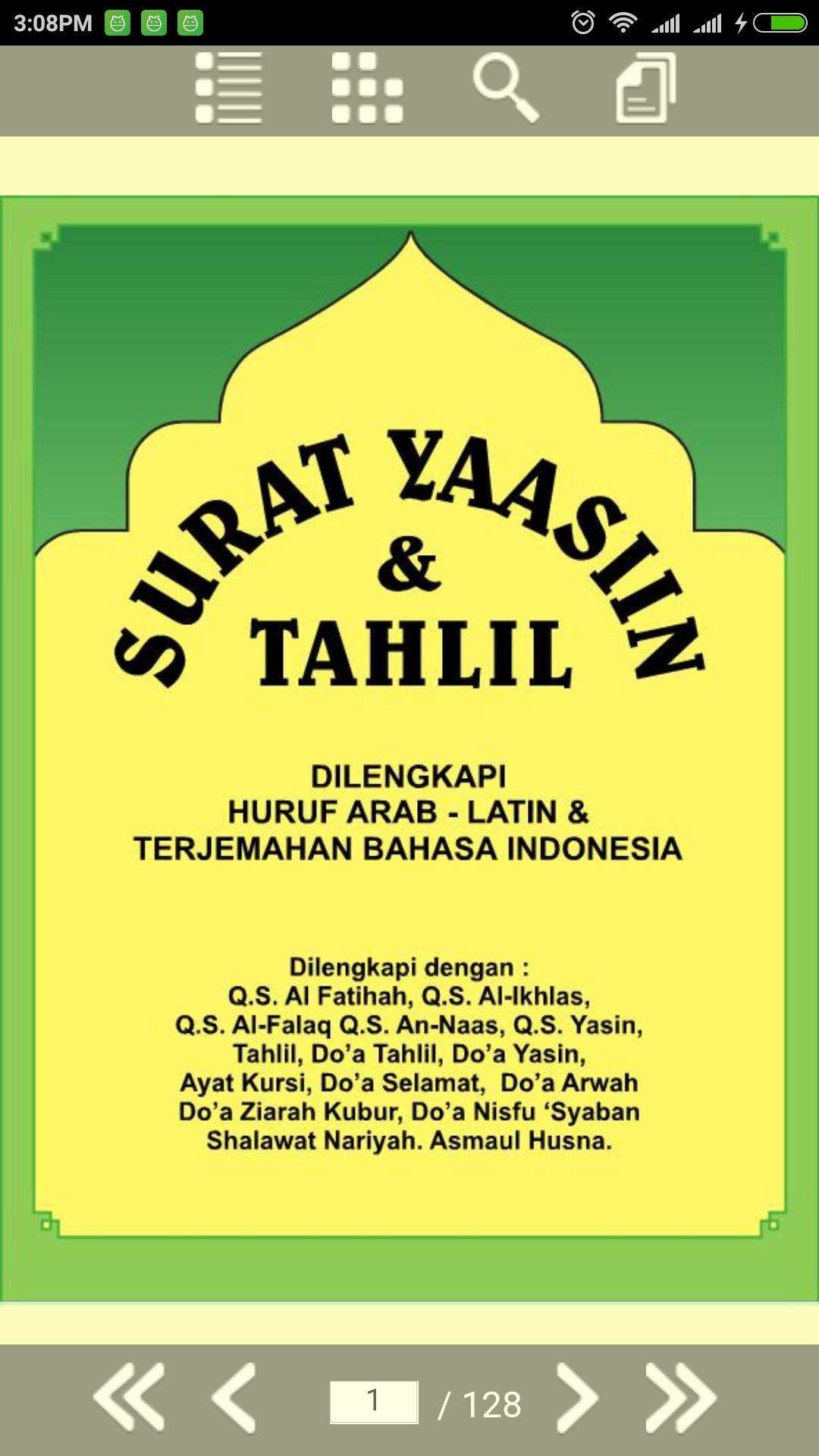 Surat Yasin Tahlil Dan Doa Lengkap For Android Apk Download