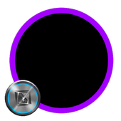Dark Purple for TSF Shell icon