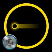 TSF Shell Pendant Holo Yellow icon