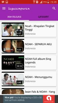 Lagu campuraN screenshot 1