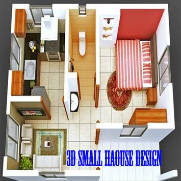 3D Big House Layout poster