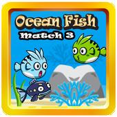 OCEAN FISH MATCH 3 icon