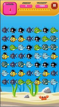 OCEAN FISH MATCH 3 screenshot 1