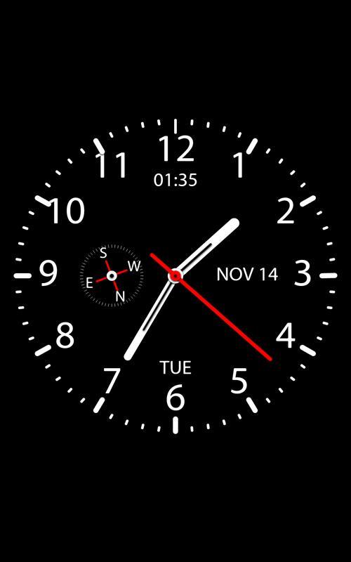 Простые цифровые часы — красивые и удобные часы на андроид.