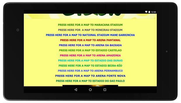 Brasil 2014 Stadium Guide apk screenshot