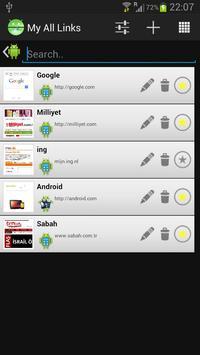 My Favorite List apk screenshot