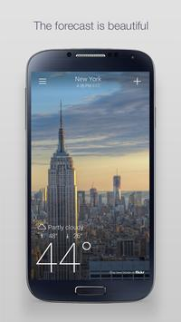 Yahoo Weather poster