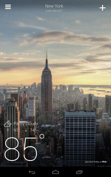 Yahoo Weather apk screenshot