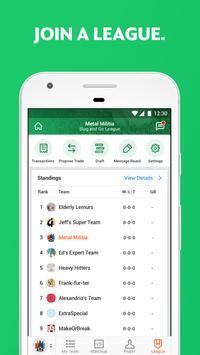 Yahoo Fantasy Sports - #1 Rated Fantasy App apk تصوير الشاشة