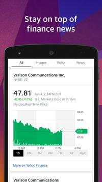 Yahoo Search apk screenshot