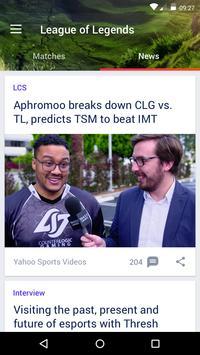 Yahoo Esports screenshot 1