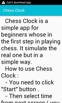 Chess Clock screenshot 4