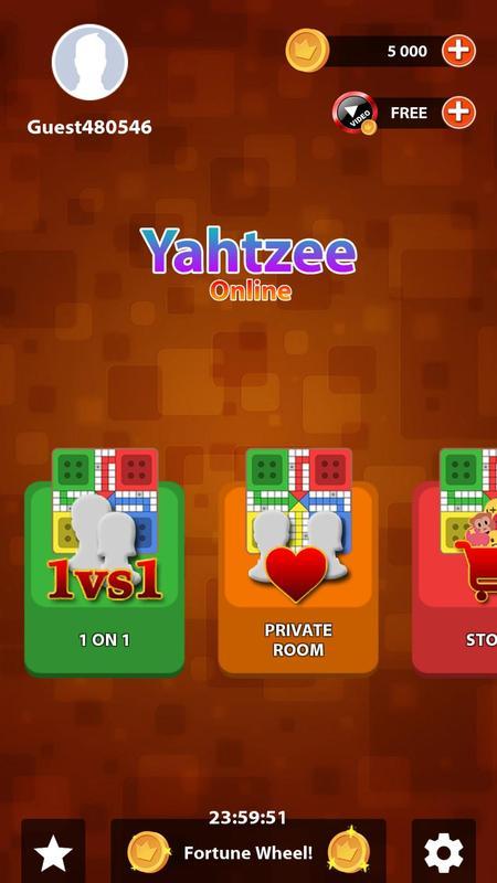 yatzee online