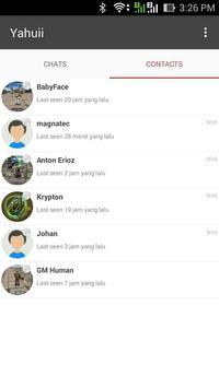 Yahuii Chat apk screenshot