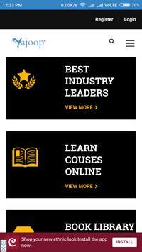 Yajoop Online Courses screenshot 2