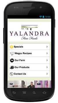 Yalandra Fine Foods poster