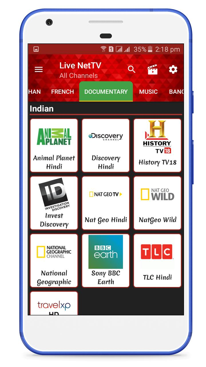 Live Net TV for Android - APK Download