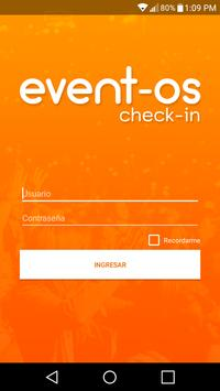 Event-os Checkin poster