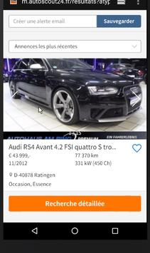 Alerte Voiture d' AutoScout24 Europe screenshot 2