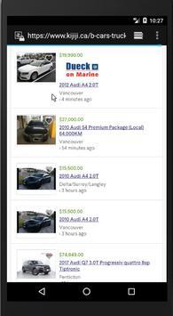 Cars Alert from Kijiji Canada screenshot 3