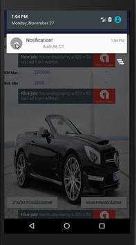 Alert Samochody of OTOMOTO Polska screenshot 1
