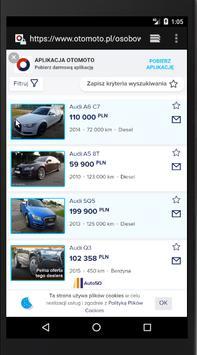 Alert Samochody of OTOMOTO Polska screenshot 2