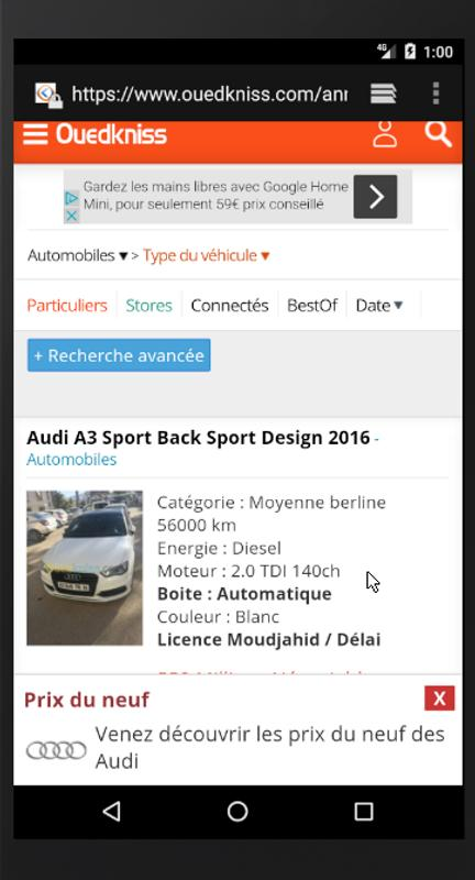 Alerte Voiture D Ouedkniss Algerie For Android Apk Download