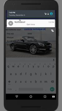 Alerte Voiture de Leboncoin France apk screenshot