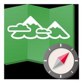 ヤマレコMAP - 登山・ハイキング用GPS地図アプリ アイコン