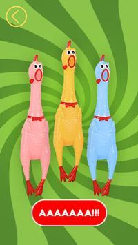 Duck Army Scream Joke poster
