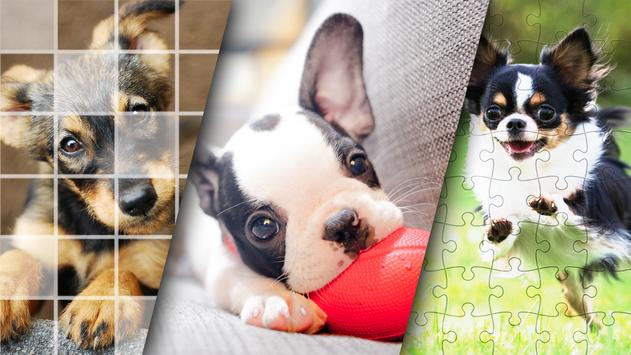 Lovely Puppy Puzzle Kit & Wallpapers screenshot 2
